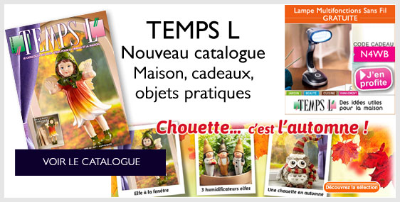 Découvrez le nouveau catalogue TEMPS L