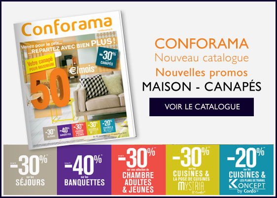 Nouveau Catalogue CONFORAMA