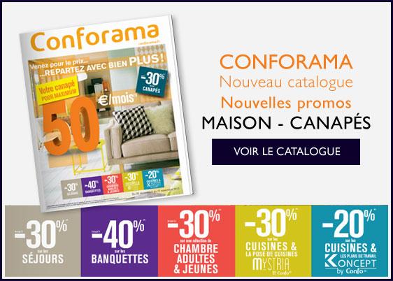 Nouveau Catalogue CONFORAMA