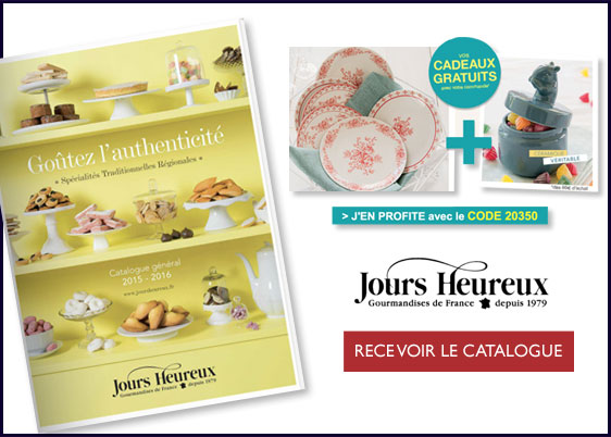 Recevez votre catalogue Jours Heureux gratuitement