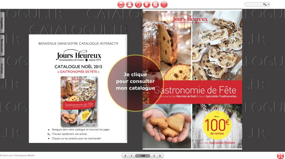 Cliquez pour faire votre shopping gourmand en ligne