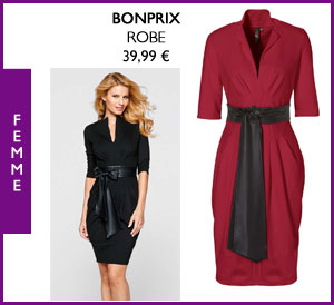 Robe manches mi-longues