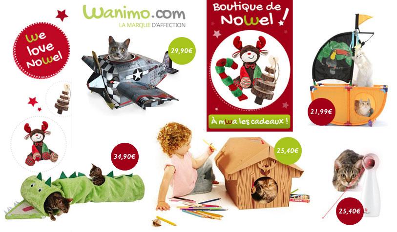 Cliquez et craquez pour la sélection de cadeaux Wanimo !