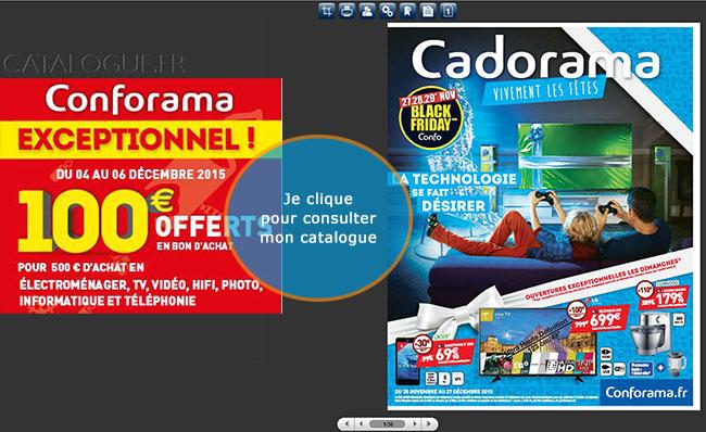 Nouveau Catalogue Conforama + 100€ offerts sur vos achats !