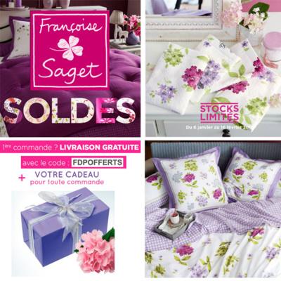 Profitez des soldes Françoise Sagetet recevez votre cadeau !