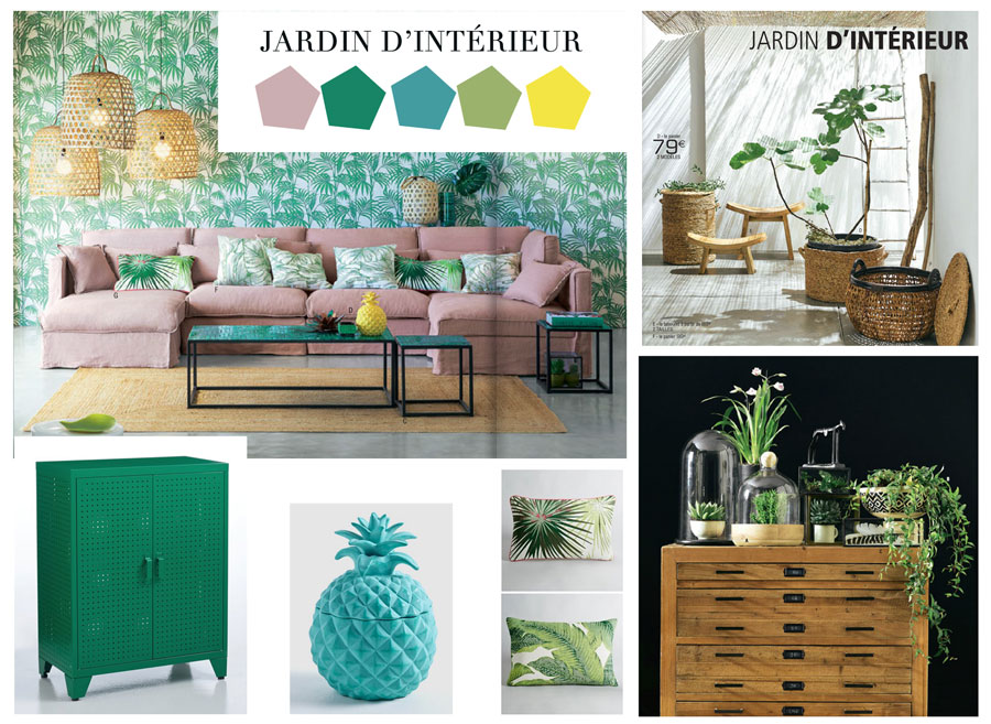 AM.PM, et sa collection jardin d'interieur