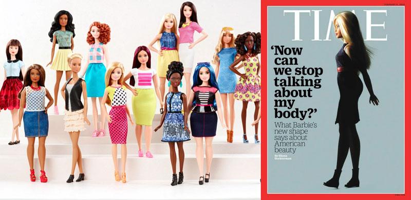 Nouvelles poupées Barbie pour des silhouettes réalistes, on aime !