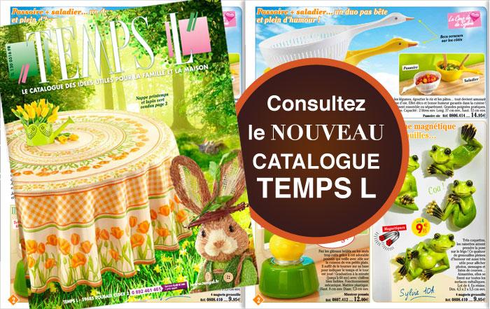 Le catalogue Temps L