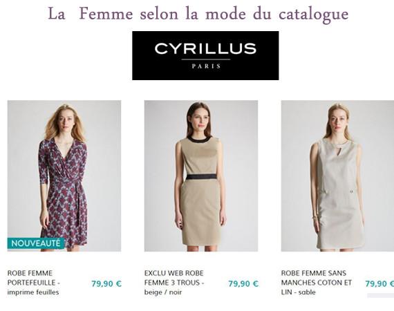 Pensez à jeter un oeil au catalogue Cyrillus !