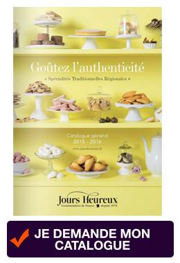J-6 avant le passage des cloches... Craquez pour les chocolats du catalogue Jours Heureux !