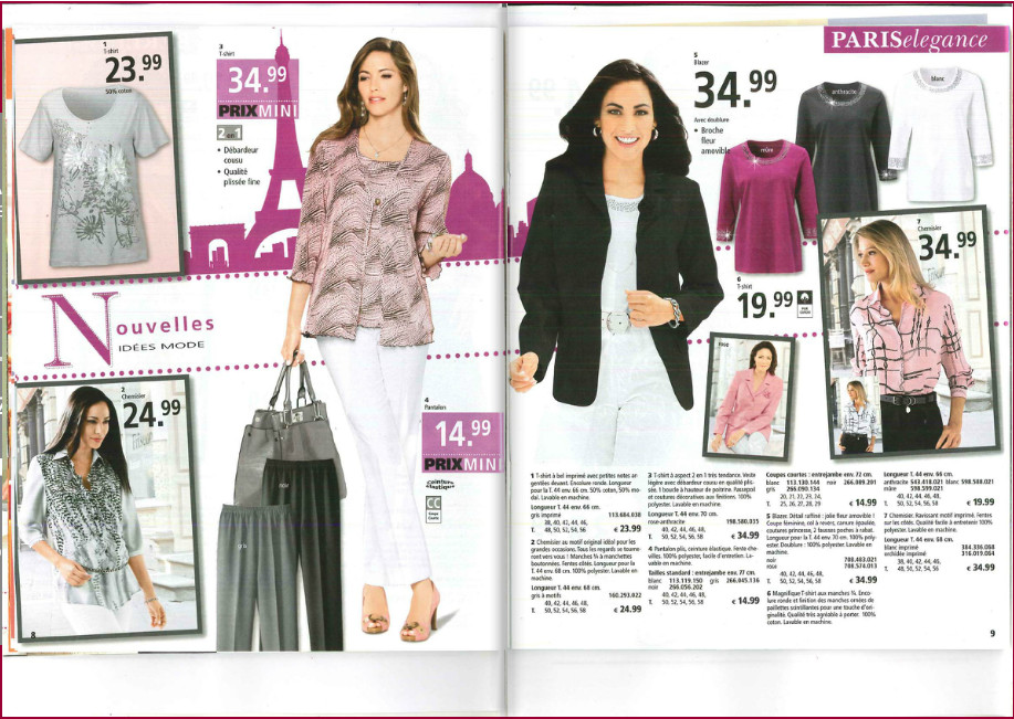 Le nouveau catalogue Moda Vilona + vos 2 cadeaux GRATUITS !