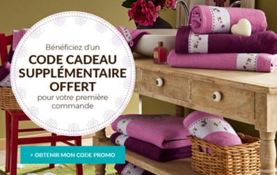 Chez Françoise Saget 50% de réduction sur le linge de maison ! Foncez !