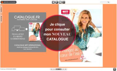 Consultez l'extrait de catalogue en ligne sur catalogues.fr
