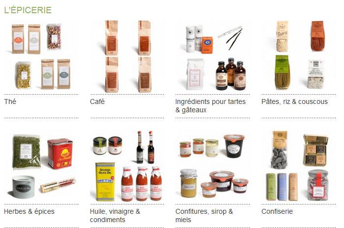Dille et Kamille, c'est aussi une épicerie de qualité et fournie