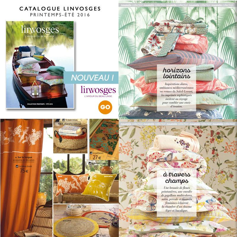 Pour feuilleter le catalogue LINVOSGES - Cliquez ici