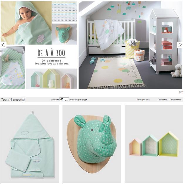 Les chambres bébés, à découvrir