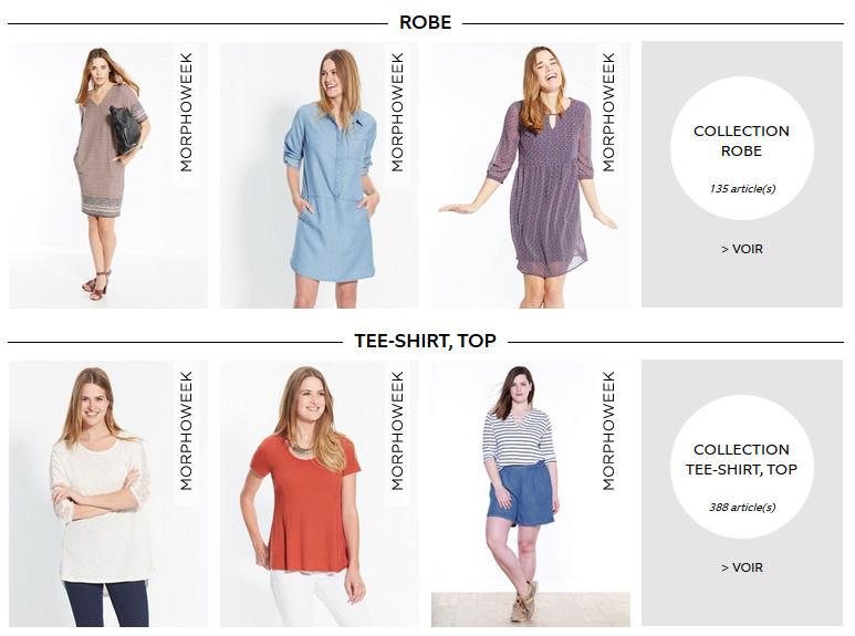 Voir la mode femme.