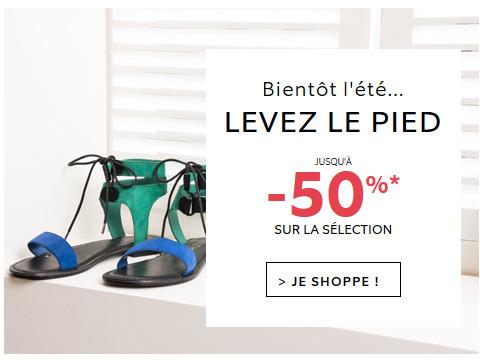 Jusqu'à -50% sur la sélection de chaussures