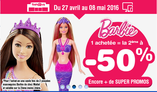 Barbie n'est pas en reste !