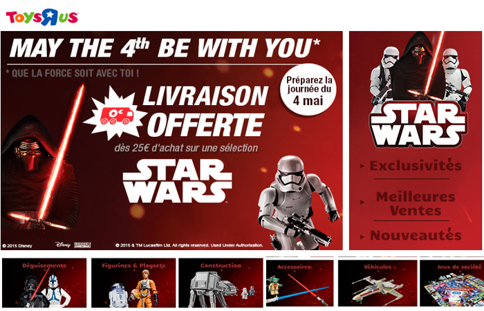 Voir toute la gamme Star Wars.