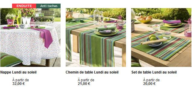 Mettez un peu de couleur avec du beau linge de table !