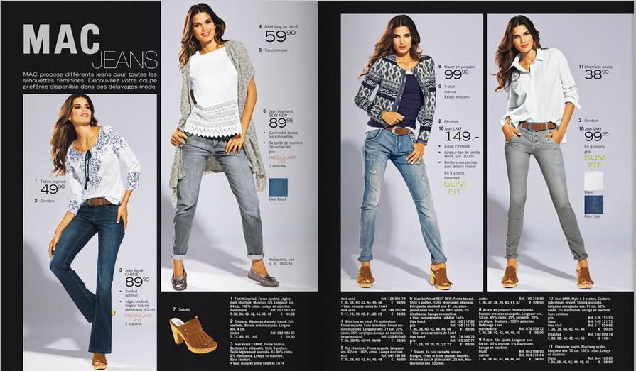 La sélection Mac jeans