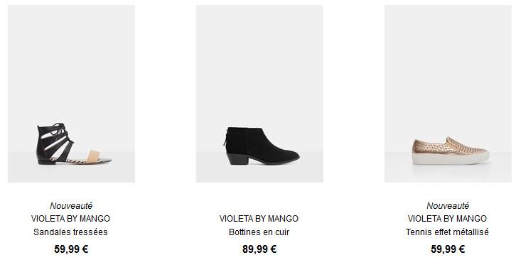 Voir toutes les chaussures Violeta.