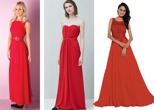 Voire les robes rouges vues sur le catalogue de la Redoute.