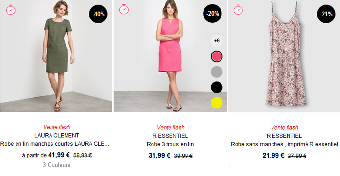 La Redoute vous propose une belle collection de robes