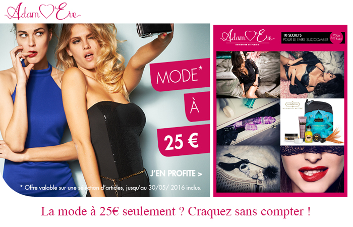 Je découvre la collection mode femme à 25€ en cliquant ici.