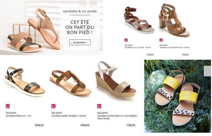 Cet été, on part du bon pied avec les sandales Balsamik !