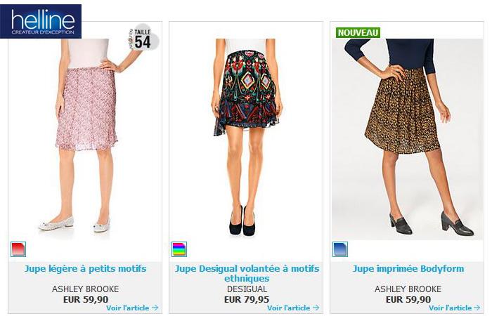 Je souhaite voir toutes les jupes sur le catalogue Helline, je clique ici.