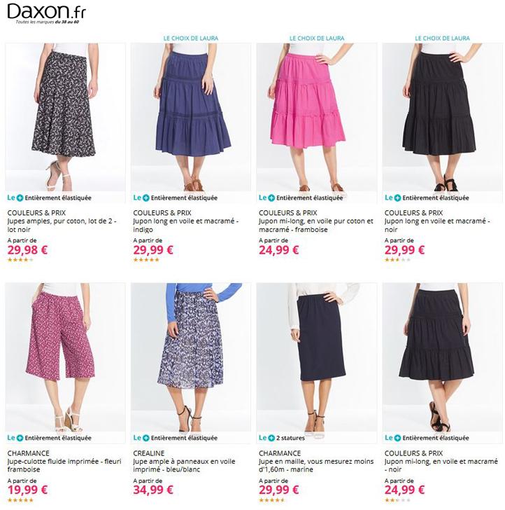 Toutes les jupes Daxon