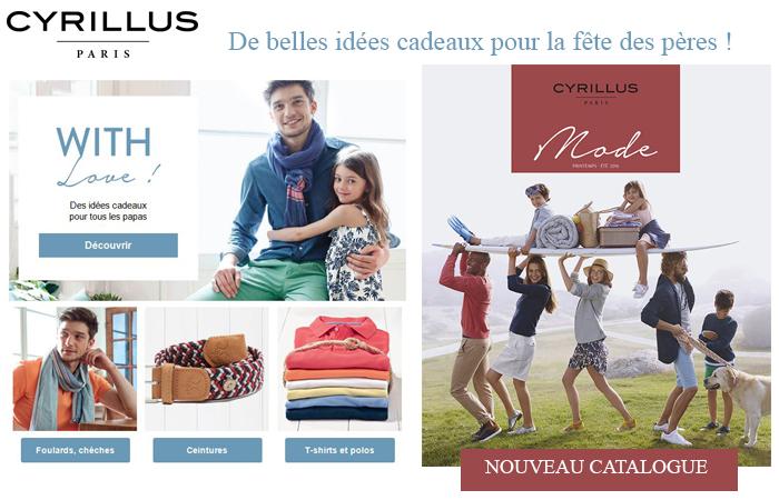 Le nouveau catalogue Cyrillus : de belles idées pour la fêtes des pères