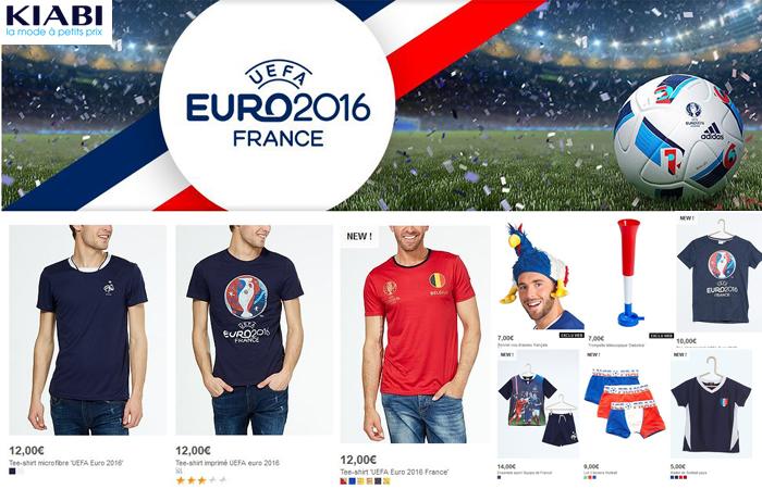 La sélection Foot pour l'Euro 2016.
