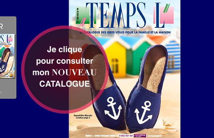 Nouveau catalogue Temps L en ligne ! Découvrez-le dès maintenant !