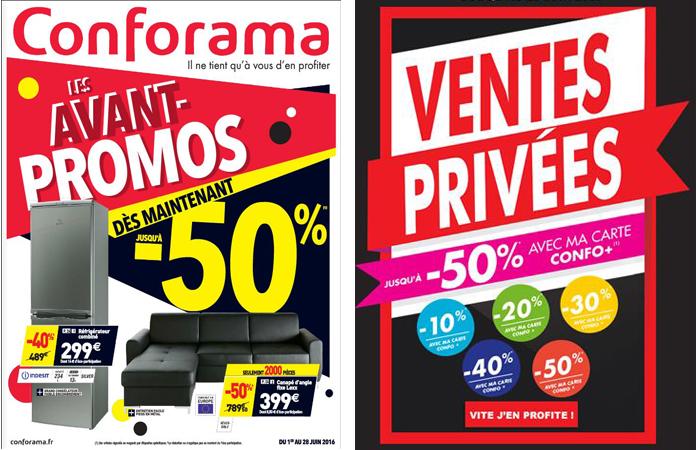 Les ventes Privées Conforama