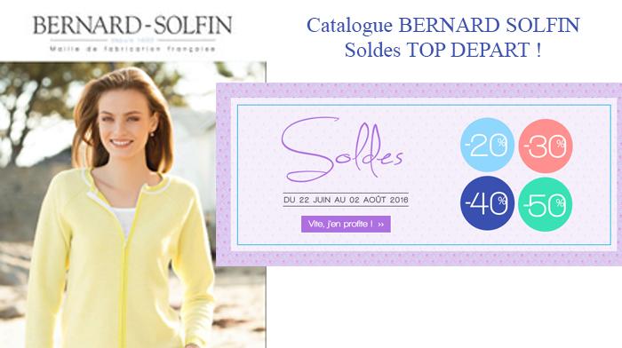 Soldes Bernard Solfin, top départ pour les SOLDES !