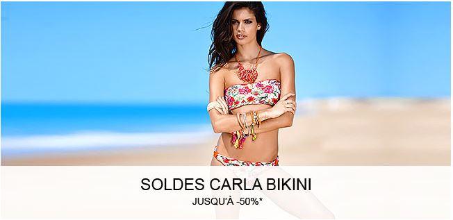 Carla Bikini à prix réduit !