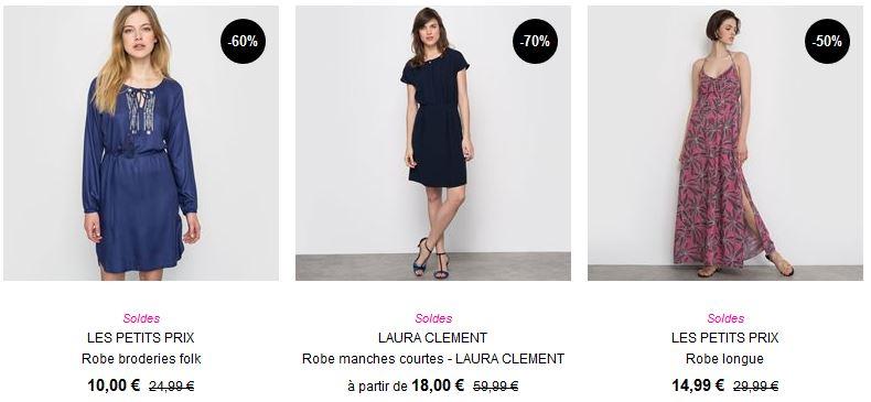 Les réductions sur la mode femme
