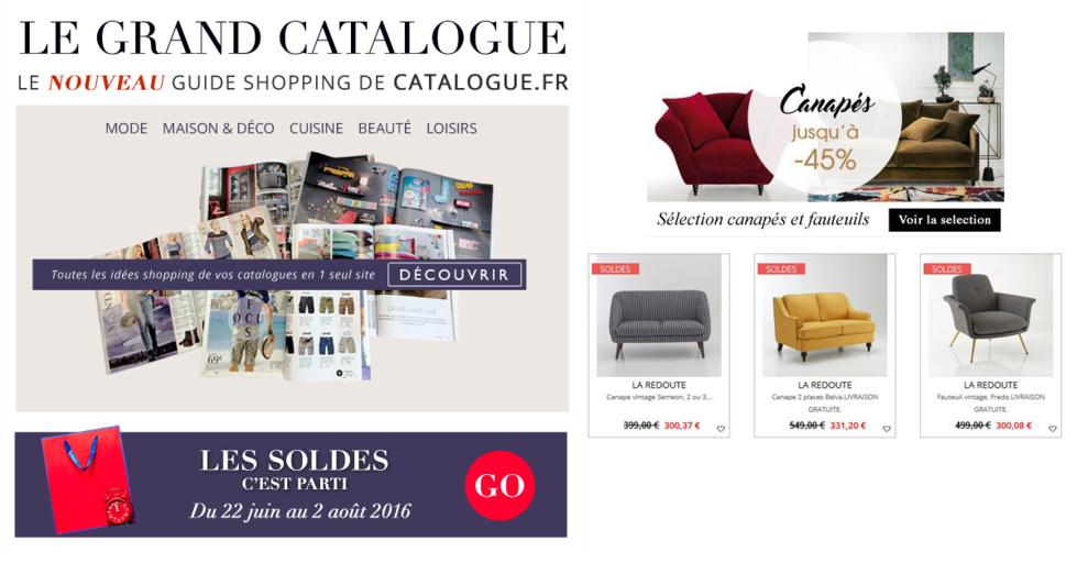 catalogue la redoute int rieurs. Black Bedroom Furniture Sets. Home Design Ideas