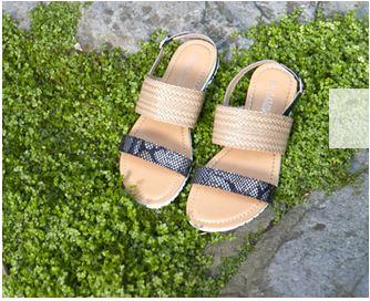 Des sandales tendances pieds nus