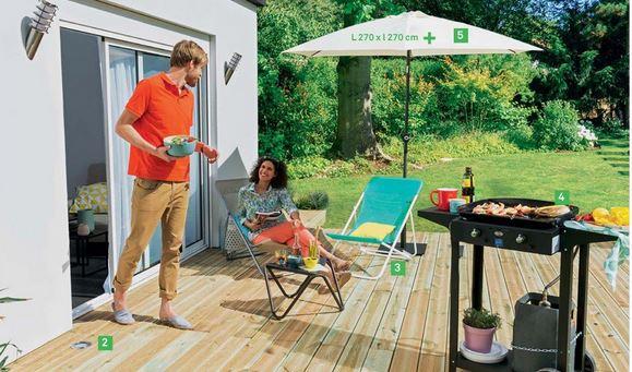 Tout pour équiper votre terasse et votre jardin !
