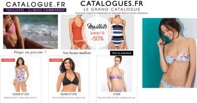 Trouvez tous les maillots de bain de vos rêves sur le Grand Catalogue !