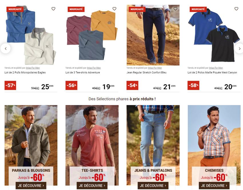 Catalogue ATLAS FOR MEN