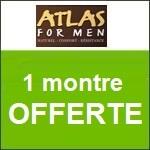 Atlas for Men : une montre offerte