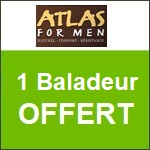 Atlas for men : un baladeur offert