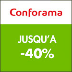 Conforama, jusqu'à -30% sur les séjours