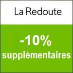 La Redoute : -10% supplémentaires sur tout le site !
