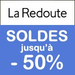 LA REDOUTE, Soldes jusqu'à -60%
